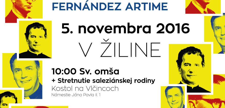 Hlavný predstavený saleziánov v Žiline !