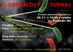 Floorbalový turnaj 3 WEB