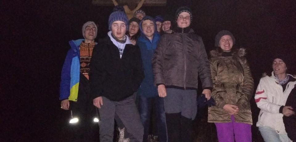 Zimný výlet aoslava Silvestra