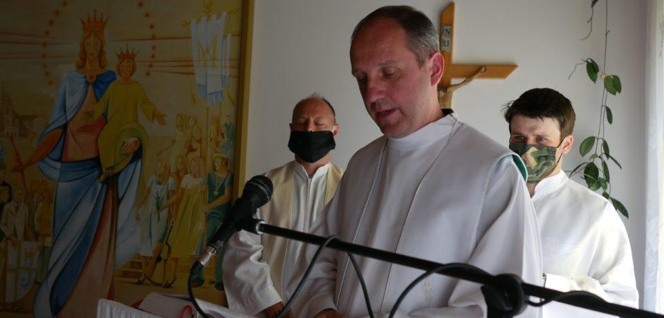 Prihlasovanie na sväté omše v Kaplnke Panny Márie Pomocnice – Oratko Juh 11.10.2020
